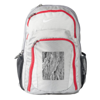 Black and White Aged Bark Nike Backpack