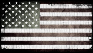 American flag business cards templates zazzle black and white american flag business card colourmoves