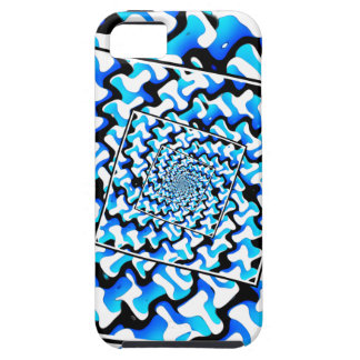 Black And White And Blue iPhone SE/5/5s Case