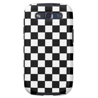 Black and White and Colors Designs Samsung Galaxy SIII Case
