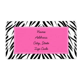 Zebra Shipping, Address, & Return Address Labels | Zazzle