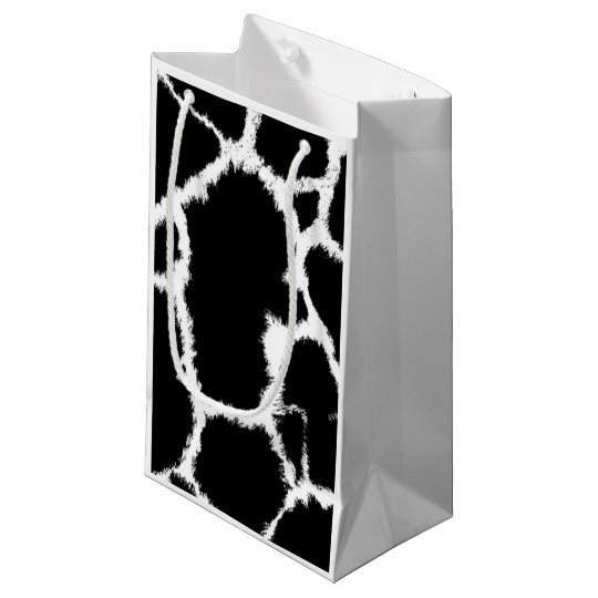 Black and White Animal Pattern Small Gift Bag