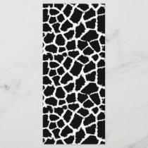 Black and White Animal Print Pattern