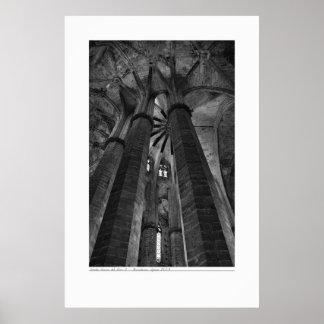Black and White Architecture Poster