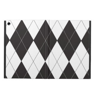Black and White Argyle iPad Air Case