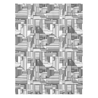 Black and White Art Deco Tablecloth