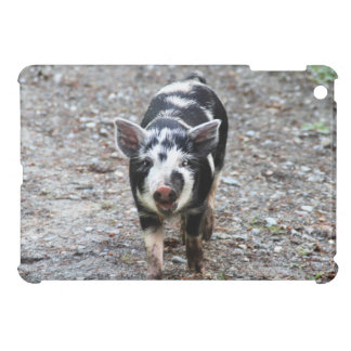Black and White Baby Pig Cover For The iPad Mini
