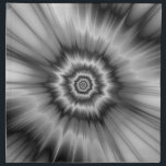 "Black and White Bang! Napkins<br><div class=""desc"">Digital abstract fractal image with a monochrome explosion design in black and white by Objowl. As well as napkins this design is also available on most other products. If you need help or would like me to make changes to this or any other item email me. objowl at gmail.com. No...</div>"