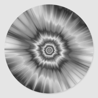 Black and White Bang Sticker