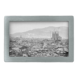 Black and White Barcelona Belt Buckle