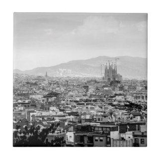 Black and White Barcelona Tile