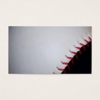 Black and White Baseball / Softball Business Card