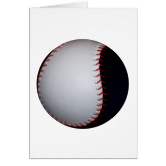 Black and White Baseball / Softball Card