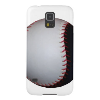 Black and White Baseball / Softball Cases For Galaxy S5