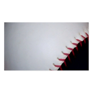 Black and White Baseball / Softball Double-Sided Standard Business Cards (Pack Of 100)