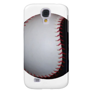 Black and White Baseball / Softball Samsung Galaxy S4 Covers