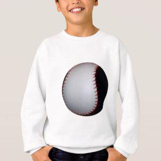 Black and White Baseball / Softball Sweatshirt