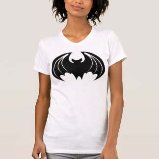 BLACK AND WHITE BAT T SHIRT