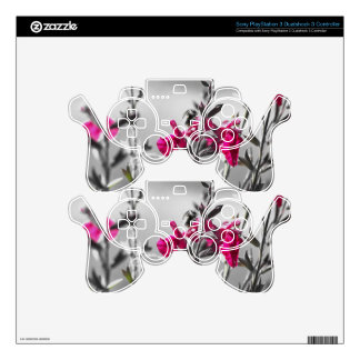 Black and White Bee PS3 Controller Skin