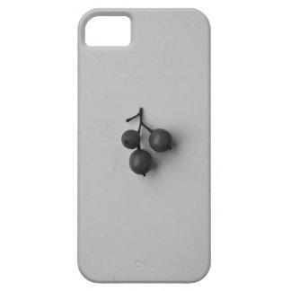 Black and White Berries iPhone SE/5/5s Case