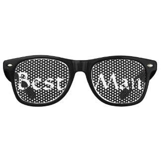 Black and White Best Man Fun Bachelor Party Wayfarer Sunglasses