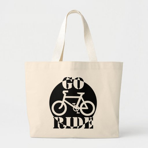 Black and White Bicycle Bags