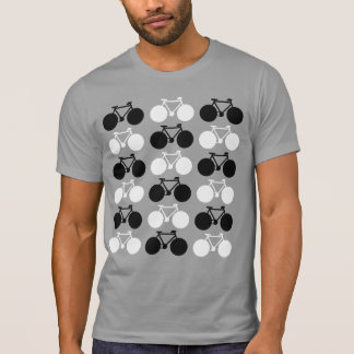 black and white bicycles, cool T-Shirt