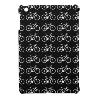 black and white bicycles patterning cover for the iPad mini