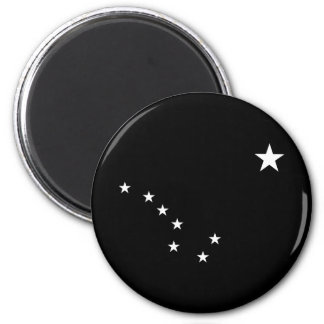 Black and White Big Dipper Magnet