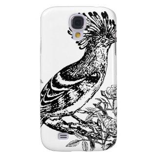 Black And White Bird Sketch Samsung S4 Case