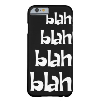 Black and White Blah   iPhone 6 case