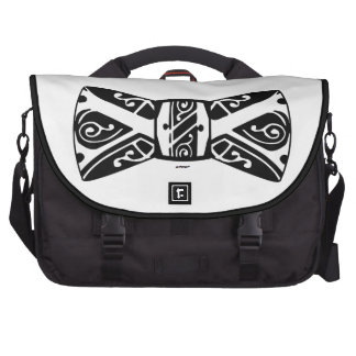 Black and White Bow Tie Commuter Bags