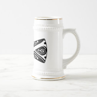 Black and White Bow Tie 18 Oz Beer Stein