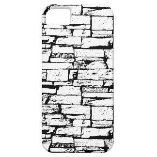 Black and White Brick Phone Case