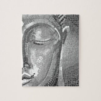 Black and White Buddha Face Puzzles
