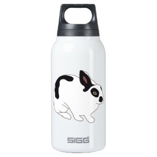 Black and White Bunny Rabbit SIGG Thermo 0.3L Insulated Bottle