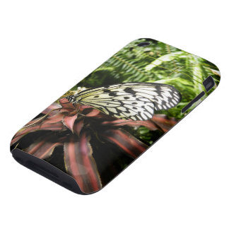 Black and White Butterfly iPhone 3 Tough Case