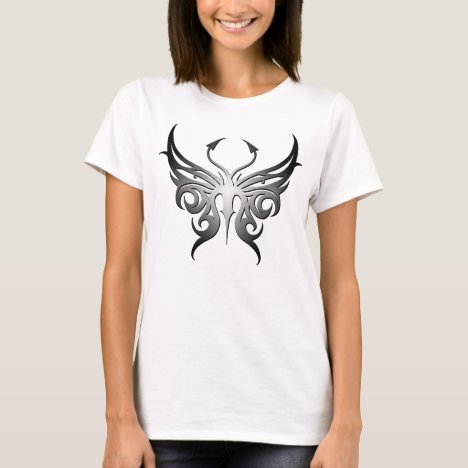 Black and white butterfly tee! T-Shirt