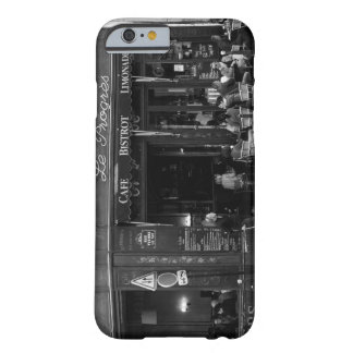 Black and White Cafe in Montmartre, Paris Barely There iPhone 6 Case