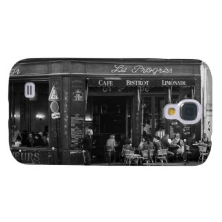 Black and White Cafe in Montmartre, Paris Galaxy S4 Cover