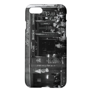 Black and White Cafe in Montmartre, Paris iPhone 7 Case