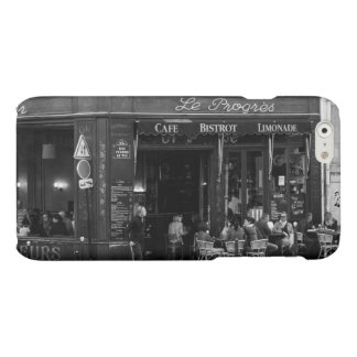 Black and White Cafe in Montmartre, Paris Matte iPhone 6 Case