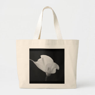 Black and White Calla Lilly Bag