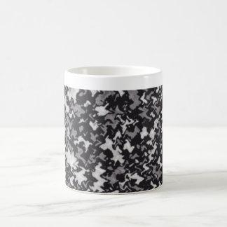 Black And White Camouflage Mug
