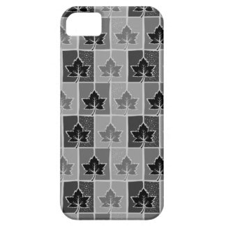 Black and White Canada iPhone SE/5/5s Case