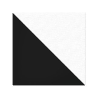 Black and White Gallery Wrap Canvas