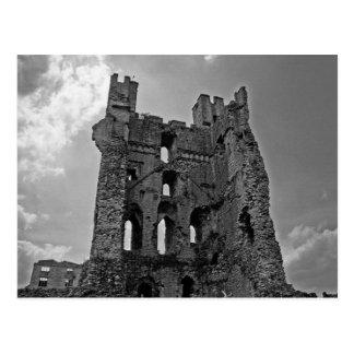 Black and White Castle Postcard