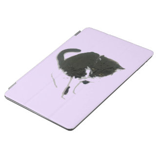 Black and White Cat Art iPad Air Cover
