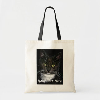 Black and White Cat Bag Bag