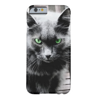 Black and white cat barely there iPhone 6 case